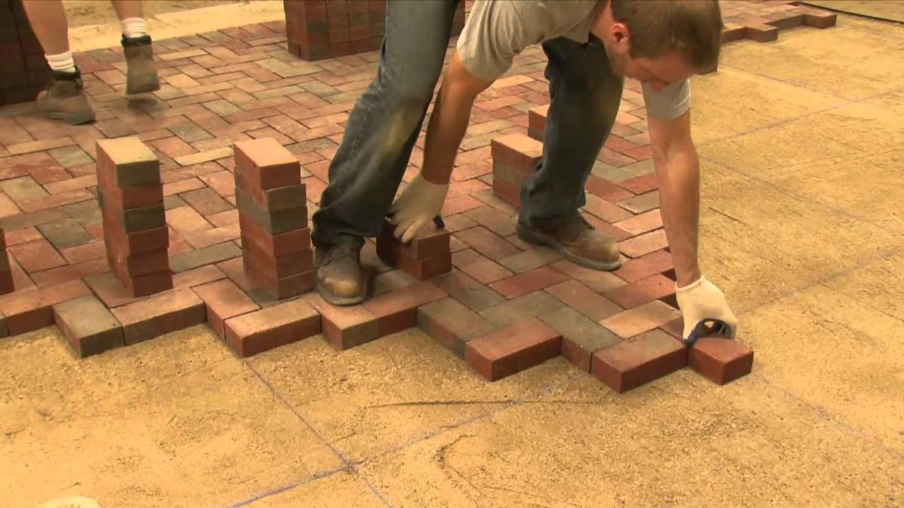 Brick Paver Installation Proper Installation Of Clay Pavers  Youtube