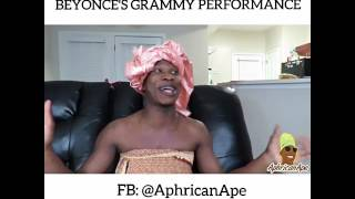 Beyonce's Grammy Performance - Aphricanace Comedy