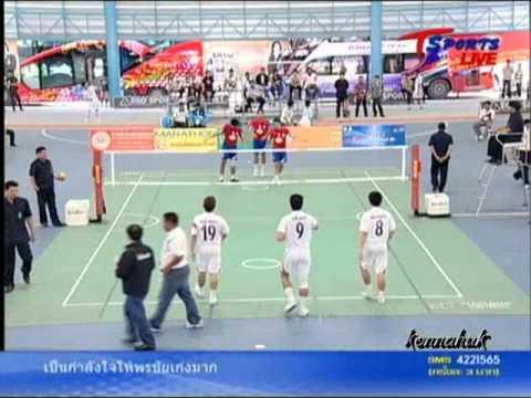 2011 Sepak Takraw Thailand League '' Bangkok Vs Karasin 4 of 10