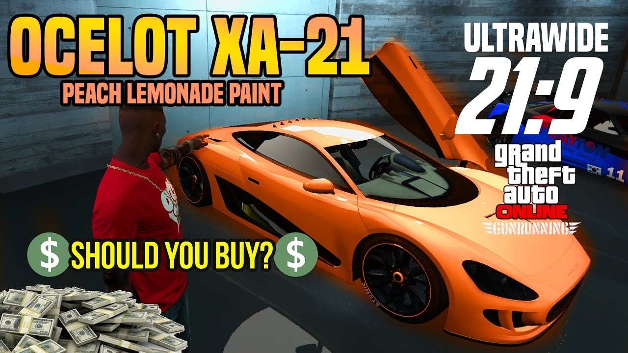 GTA 5: PEACH LEMONADE PAINT OCELOT XA-21 Should You Buy Review ...