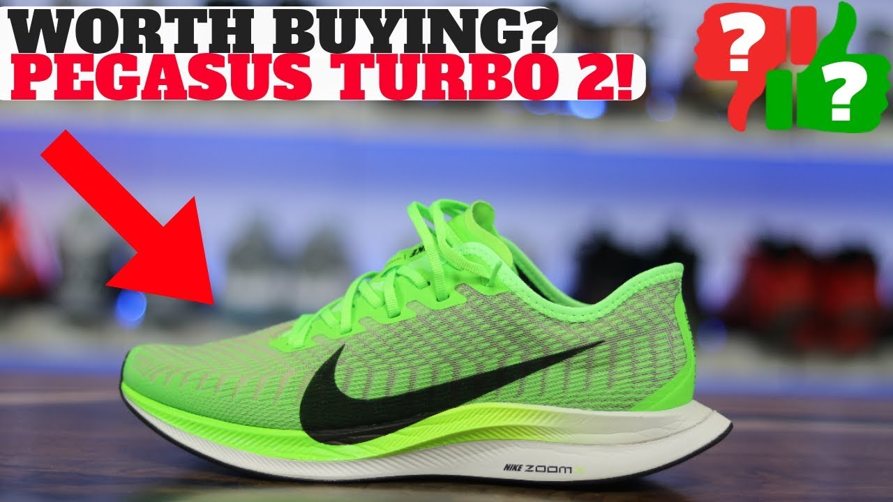 WORTH BUYING? NIKE PEGASUS TURBO 2 REVIEW! Compared to Pegasus Turbo & 35 /  36