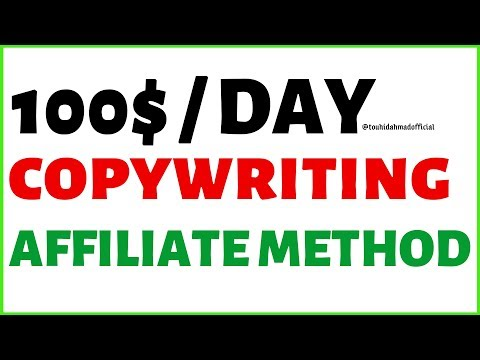 What is copywriting? | how to use copywriting method for affiliate marketing by online money