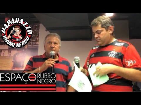 Zico ao Vivo com o Papa na loja do Flamengo! Oferecimento: Zico Art Beer e Lojas Oficiais do Mengão!
