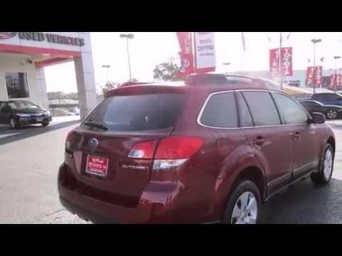 2012 Subaru Outback New Braunfels Tx Red Mccombs Toyota Youtube