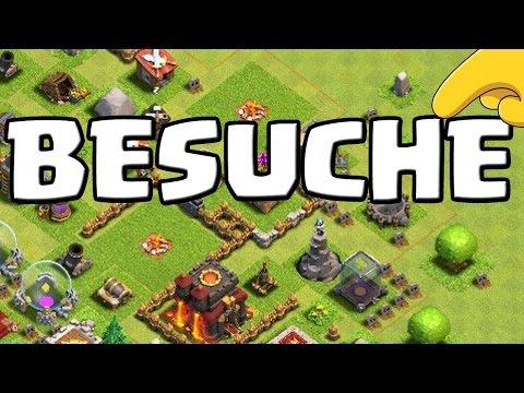 DORFBESUCHE || CLASH OF CLANS || Besuche, Tipps & Tricks [Deutsch/German HD+]