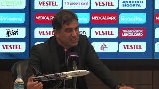 Ünal Karaman'ın maç sonu açıklamaları | Trabzonspor 4-1 Beşiktaş