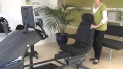 Driver Test Station for disabled driver
