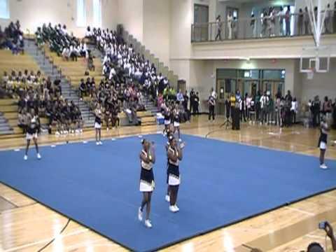 Coretta Scott King Middle School-Cheer Competition-2011
