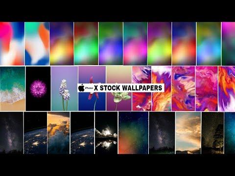 Iphone X Stock Wallpaper Zip Files 4k Official Wallpaper Youtube
