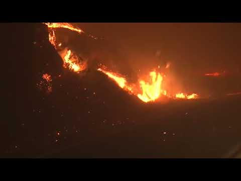 SANTA ROSA  IN CALIFORNIA FIRE EXACUVATION LIVE California Department of Forestry and Fire