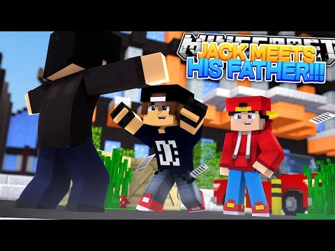Minecraft Adventure - JACK MEETS HIS LONG LOST DAD!!!