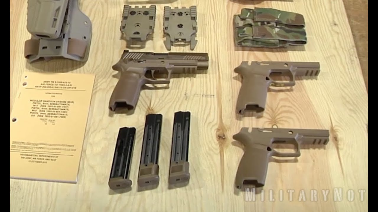 The US Army Is Issuing Its New M17 Pistols to Many More