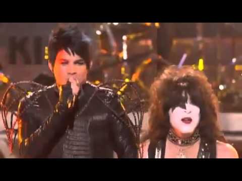 Adam Lambert & Kiss - Beth, Detroit Rock City (American Idol Performance)