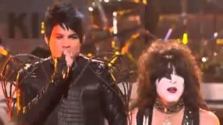 Adam Lambert & Kiss - Beth, Detroit Rock City (American Idol Performance) Video