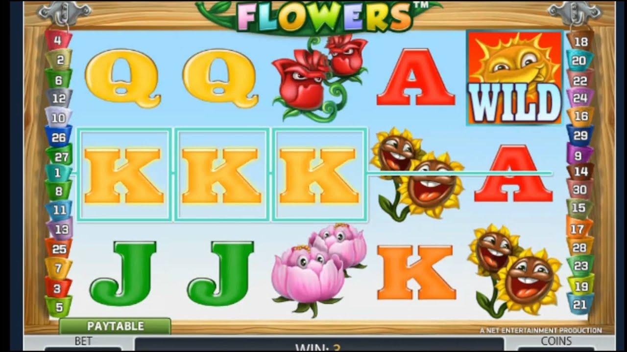 Flowers – самый увлекательный автомат в казино Вулкан онлайн.