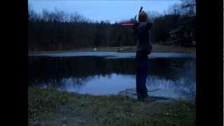 100 Yard Archery Bow Shot With Diamond Razor Edge