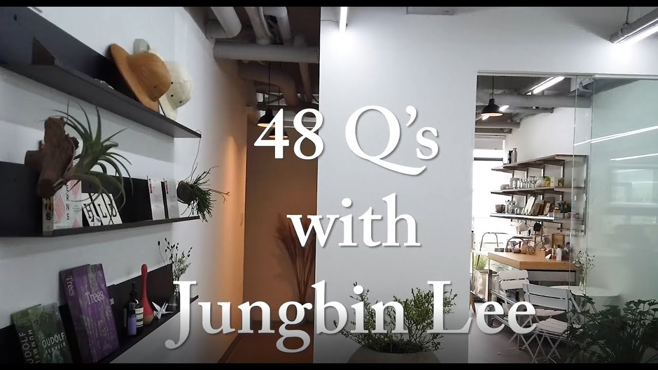 48 Questions with Jungbin Lee | HLD