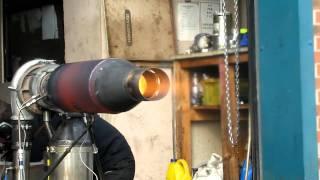 Diy Gasturbine, Jet Engine Afterburner Test