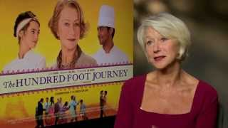 The Hundred-Foot Journey - Exclusive Interview With Dame Helen Mirren And Cast