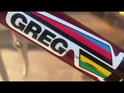 Ca. 1989 Greg Lemond Bike Frame -Maillot Jaune Columbus TSX Hand Made Lugged Steel Road Cycling