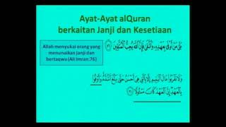 17 Okt 17 Sifat Setia Oleh Us Mohammad Yasin Sulaiman