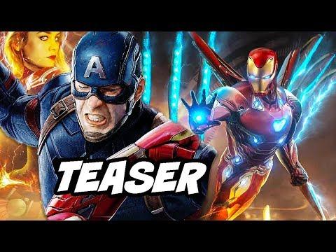 Avengers 4 Teaser - Captain America Flashback Scene Breakdown