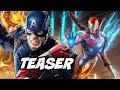 Avengers 4 Captain America Flashback Teaser Breakdown