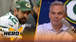 Green Bay humiliated Aaron Rodgers & yesterday, he returned the favor —Colin | NFL | THE HERD