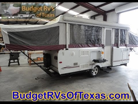 Full Blown Luxury In A Pop-Up Travel Travel Trailer! 2008 Fleetwood Niagara Pop UP