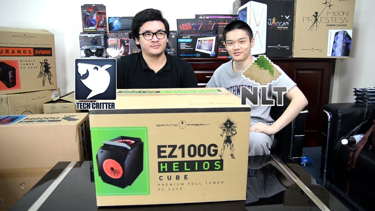 Unboxing The Gaming Freak Helios EZ100G!