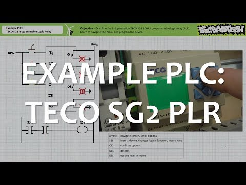 Example Plc Teco Sg2 Plr Full Lecture Youtube