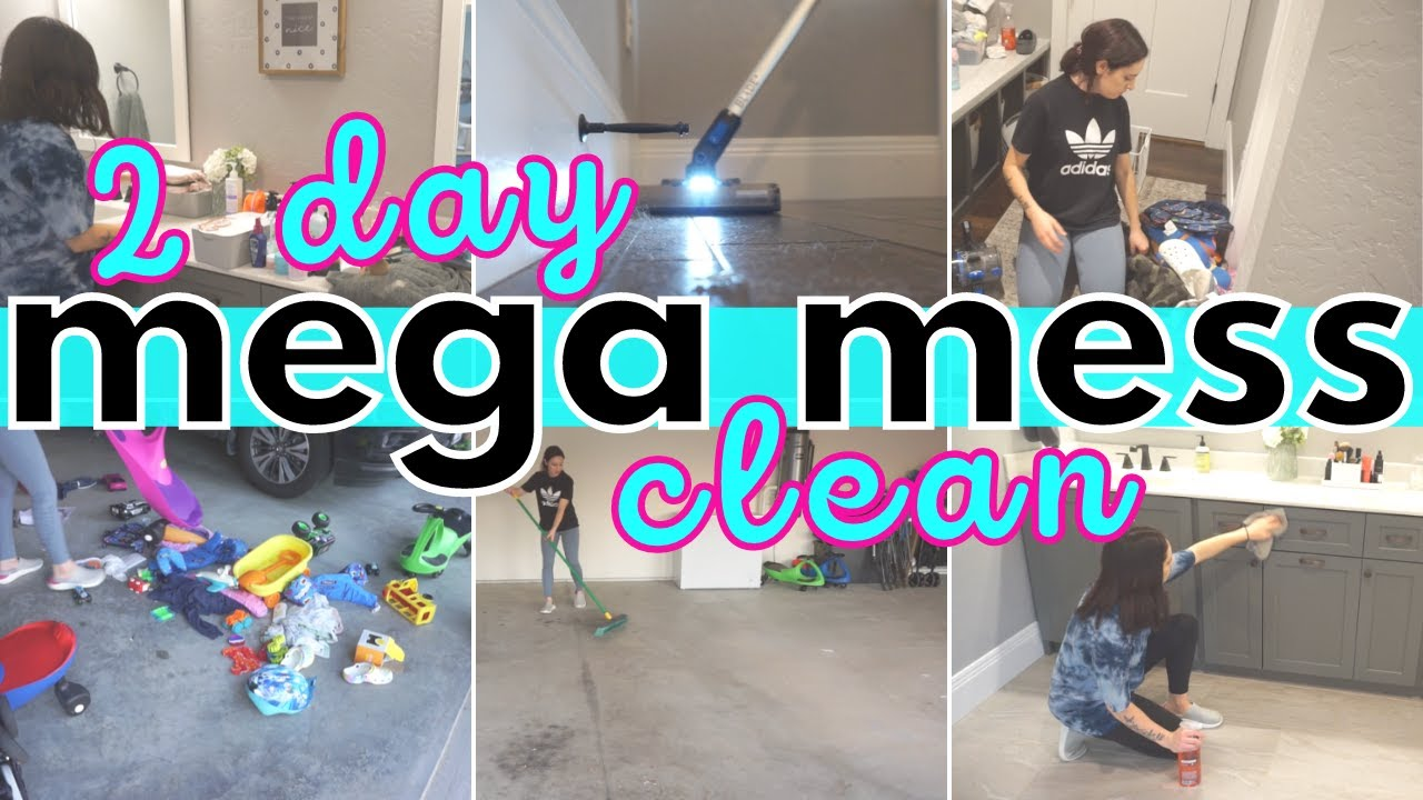 *MESSY HOUSE* CLEAN WITH ME 2021| EXTREME ALL DAY SPEED CLEANING MOTIVATION | CLEANING ROUTINE