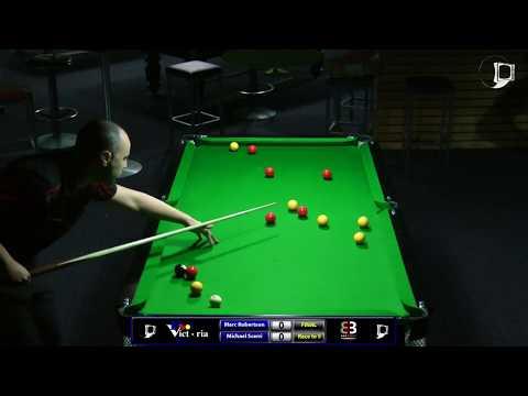 Marc Robertson v Michael Scerri | Final | Pool Victoria State Singles 2016