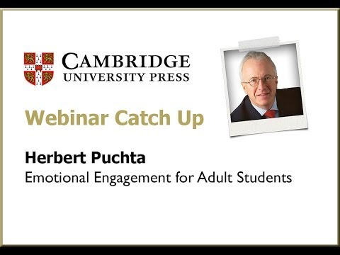 Herbert Puchta - Emotional Engagement for Adult Students