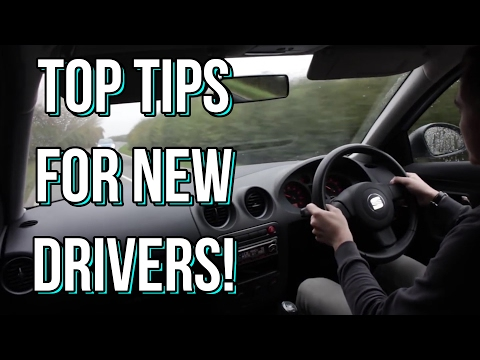 My Top Tips for New and Young Drivers!