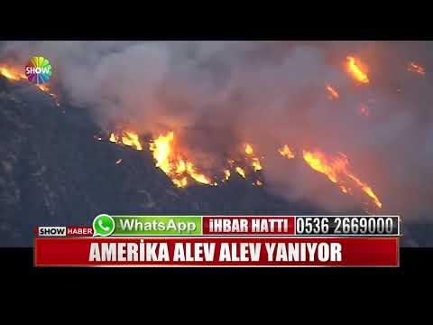 Amerika alev alev yanıyor