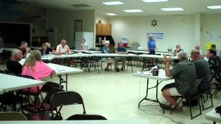 2013 OTLHOA Annual Meeting Video Part 1 of 2