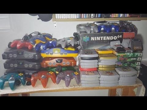 Mi Coleccion de Nintendo 64 (N64) 2016  - BONIFACIO
