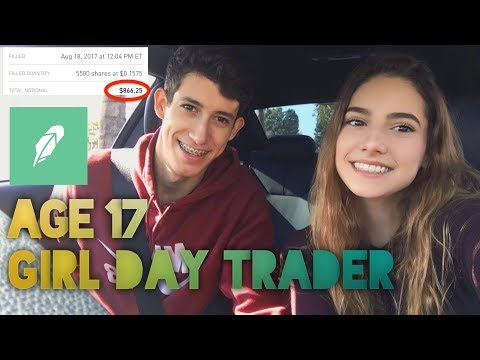 My 17 Year Old Sister Made A Profit On Her First Day Trade   Investing For Beginners