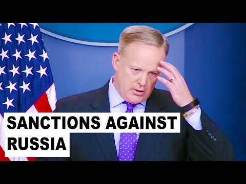 Trump's Press Secretary Spicer on CRIMEA 2/8/17