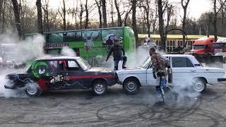 Шоу каскадеров  в Ставрополе 20,04,2019