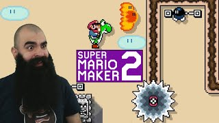 Mario Maker 2: No Skip Endless Super Expert Challenge #17 - What are the Chances?