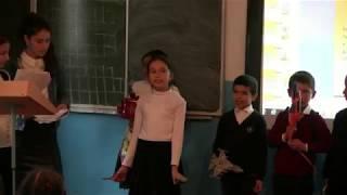 Открытый классный час в Зубанчинской СОШ им. Амира Гази провели ученицы 8-го класса.