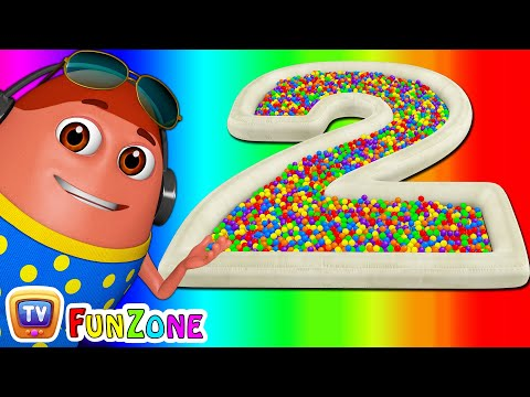 Thumbnail: Surprise Eggs Ball Pit Show for Kids to Learn NUMBERS 1-10 | ChuChu TV Funzone 3D for Children