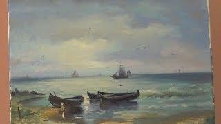 Взморье рыбацкие лодки 2 часть