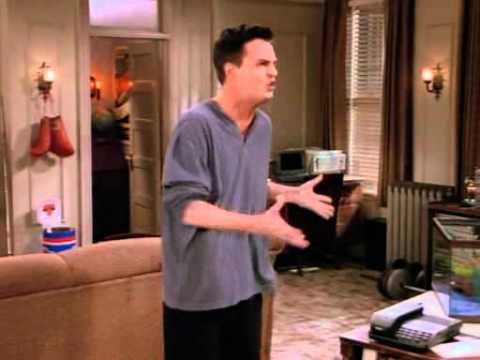 Friends - Chandler & Eddie (crazy roommate)