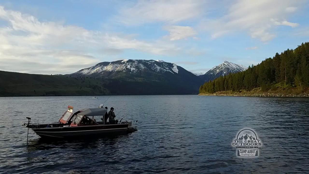 Fishing oregon 39 s iconic wallowa lake youtube for Oregon fishing license cost 2017