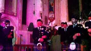 """Finlandia"" played by St Andrews Pipe Band, Hamble at the H4H concert November 2013"