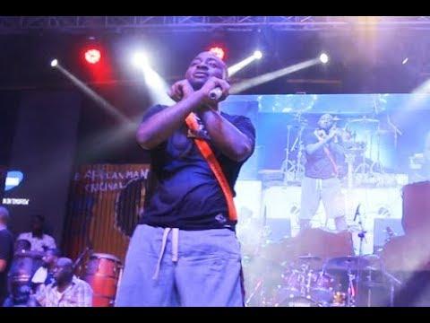 See How People Screams As Davido Did  Black Axe (Aiye) Sign At Fela Shrine