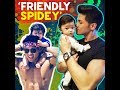 'Friendly Spidey' | KAMI |  Vin Abrenica and his nephew Alas were spotted